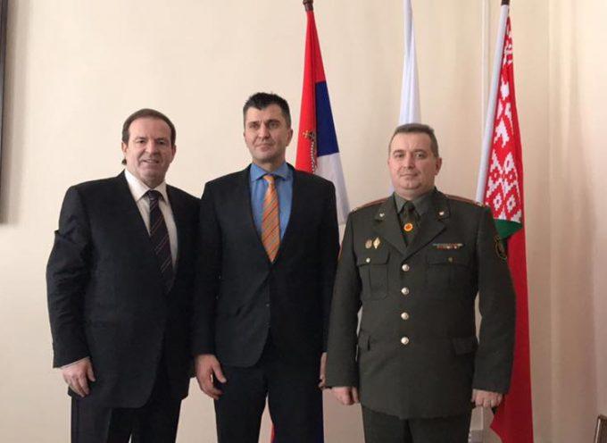 Ministru odbrane Srbije predstavljeni projekti BK grupe