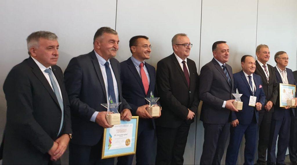 """Dobitnici ovogodišnje nagrade """"TOP ENERGY 2019"""""""